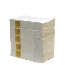 Set of 5 White Paper Books
