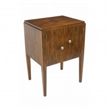 Art Deco French Walnut Cabinet