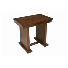Rectangular Oak Side Table by Dudouyt