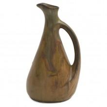 Stoneware Drip Glazed Pitcher by Denbac