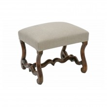 French Walnut Os De Mouton Bench