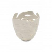 "Porcelain ""Fragment"" Bowl by Fanny Laugier"