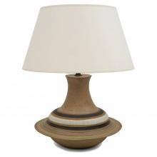 Ceramic table lamp by Bruno Gambone