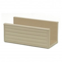 Italian Ivory Leather Envelope Holder
