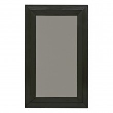 French Ebonized Wood Framed Mirror