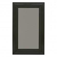 French Ebonized Wood Framed Mirror