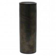 Dutch Stoneware Vase in Metallic Gray