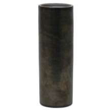 Dutch Stoneware Vase in Metallic Gray
