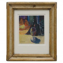 Watercolor Still Life Painting by Maurice Morel