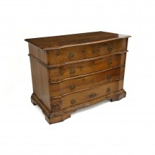 Italian 17th Century Walnut Commode