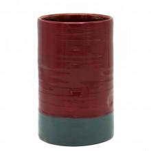 Italian Studio Art Cylinder Vase