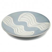 Studio Art Blue and White Platter