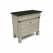 Painted Three Drawer Commode in the Directoire Style