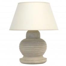 Painted Turned Wood Lamp