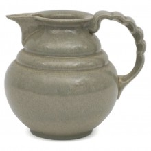 Gray Stoneware Pitcher by Adco