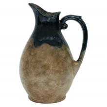 French Ceramic Pitcher by Gres