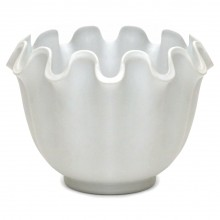 """Porcelain Swedish """"Vaga"""" Vase by Wilhelm Kage"""