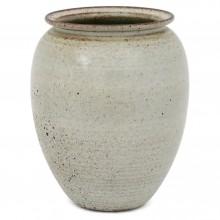 Large Gray Dutch Stoneware Vase