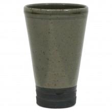 Taupe Stoneware Vase
