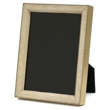 Brass and Shagreen Picture Frame