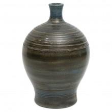 Blue/Brown Bottle Vase