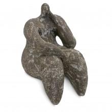 Gres Noir Figural Sculpture by Cristelle Berberian