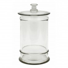 Hand Blown Glass Jar