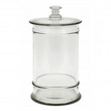 Hand Blown Glass Jar
