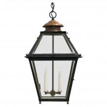 French Metal & Copper Lantern
