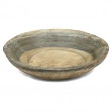 Rustic Beige Marble Plate