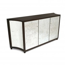 Mirrored Credenza Rosewood