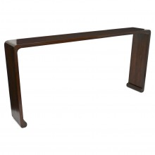 Chinese Walnut Waterfall Console