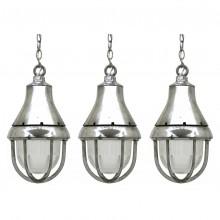 Polished Aluminum Pendant Lights