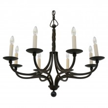 Eight Arm Iron Chandelier