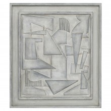 Framed Wood Abstract Collage