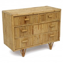 Small Bamboo Commode