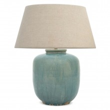 Blue Ceramic Table Lamp