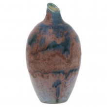 Blue and Purple Ceramic vase