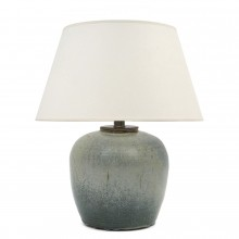 Light Blue Ceramic Table Lamp