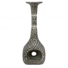 Textured Metal Vase