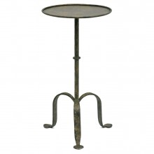 Round Gilt Iron Table