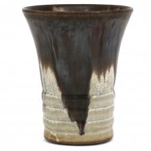 Vase Brown and Beige