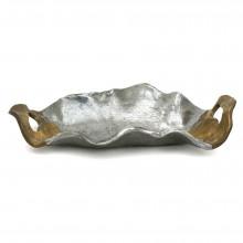 Aluminum and Brass Tray by David Marshall