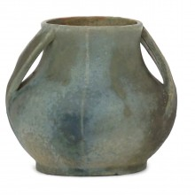 French Studio Stoneware Vase