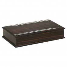 French Art Deco Macassar Ebony Box