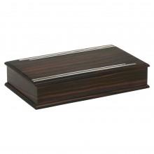 French Art Deco Macassar Ebony Box
