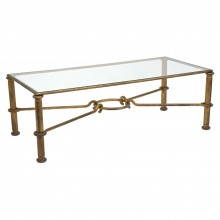 Gilt Iron Coffee Table