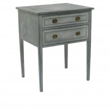 Painted Two Drawer Commode