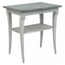 Painted Two-Tiered Table