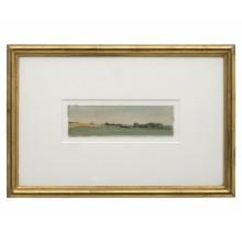 Watercolor Landscape by Jean Pierre Stora